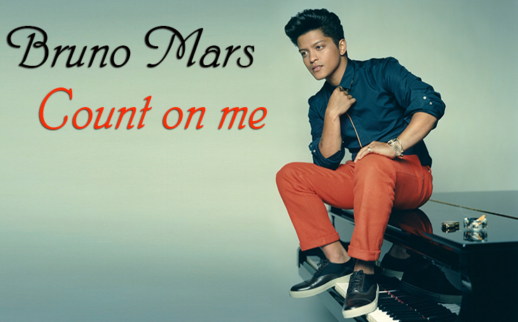 Bruno Mars - Count on me видеоразбор